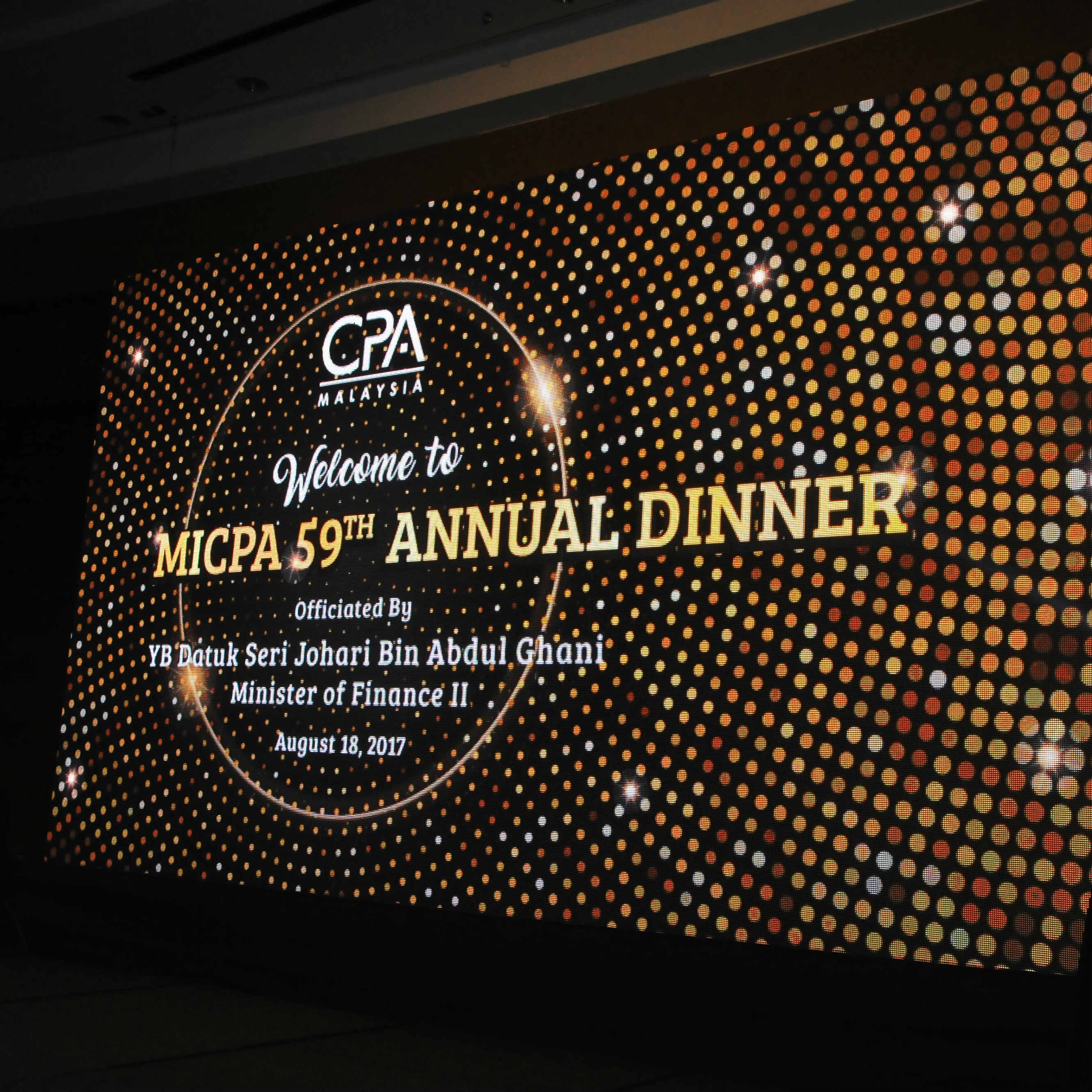 MICPA 59th Annual Dinner